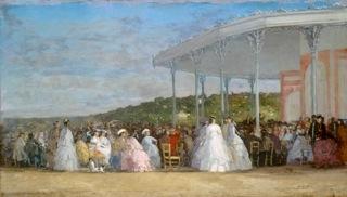 Eugène Boudin, Concert au casino de Deauville - Washington,