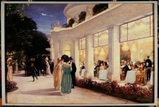 """Henri Gervex (1852-1929), """"Une soirée au Pré Catelan"""", 1909, Musée Carnavalet, Paris."""