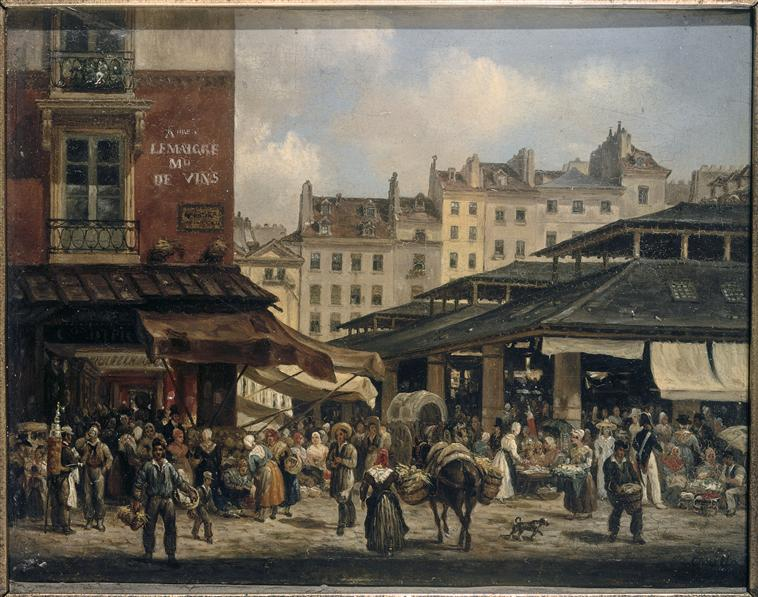 Canella Giuseppe, l'Aîné (1788-1847) - Paris, musée Carnavalet