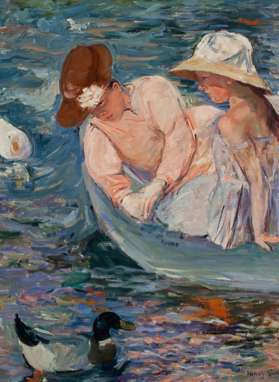 Mary Cassatt, Été, 1894, huile sur toile, Chicago, Terra Foundation for American Art, Daniel J. Terra Collection 1988.25 © Photography Terra Foundation for American Art, Chicago